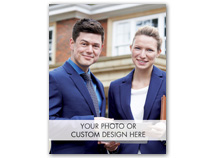 Fully Customizable Holiday Photo Cards, Value Size