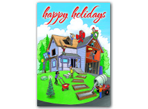 Home For The Holidays Contractor & Builder Cards